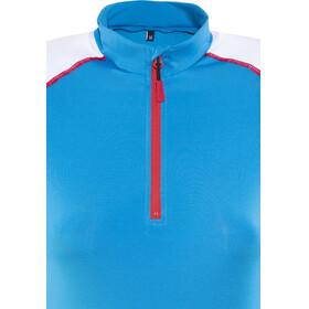 Gonso Belinda Fietsshirt korte mouwen Dames blauw